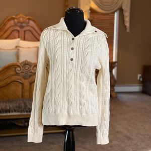 Ralph Lauren Active Ivory Sweater Size Large